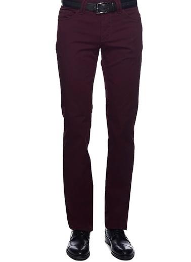 Altınyıldız Classics Slim Fit Desenli Pantolon 450118100019 Bordo